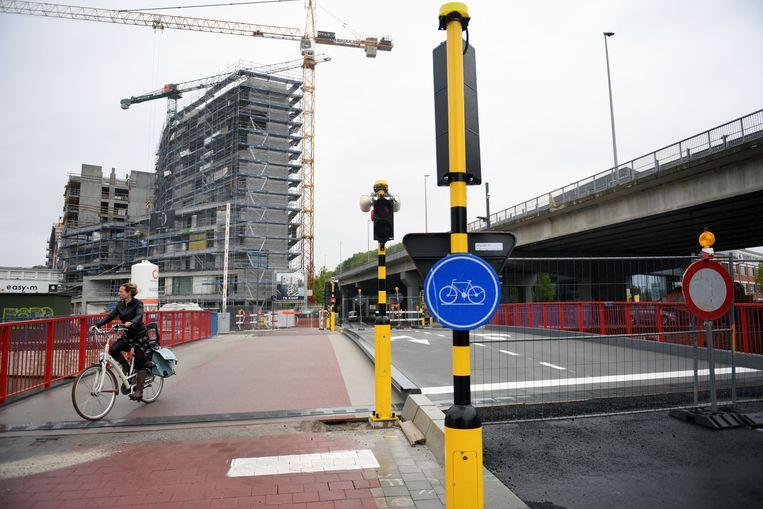 De opening van de nieuwe brug aan de Vaartkom is verplaatst naar midden augustus
