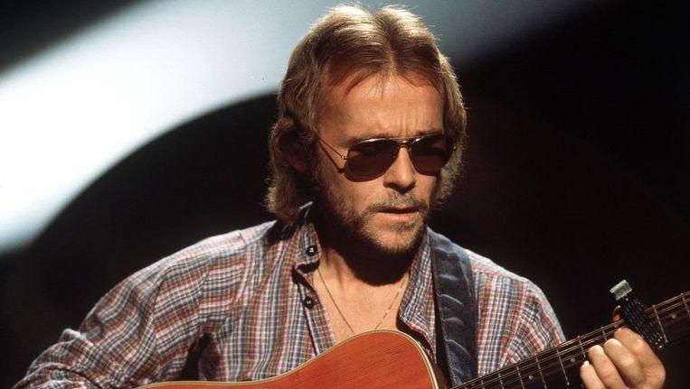 Cees Veerman, zanger/gitarist van The Cats, in 1976 Beeld ANP