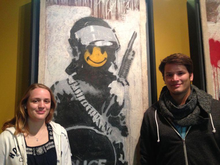 Theresa Rittberger (19) en Tim Horter (23) Beeld null