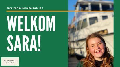 Sara Van Acker is nieuw gezicht op Zelzaatse jeugddienst