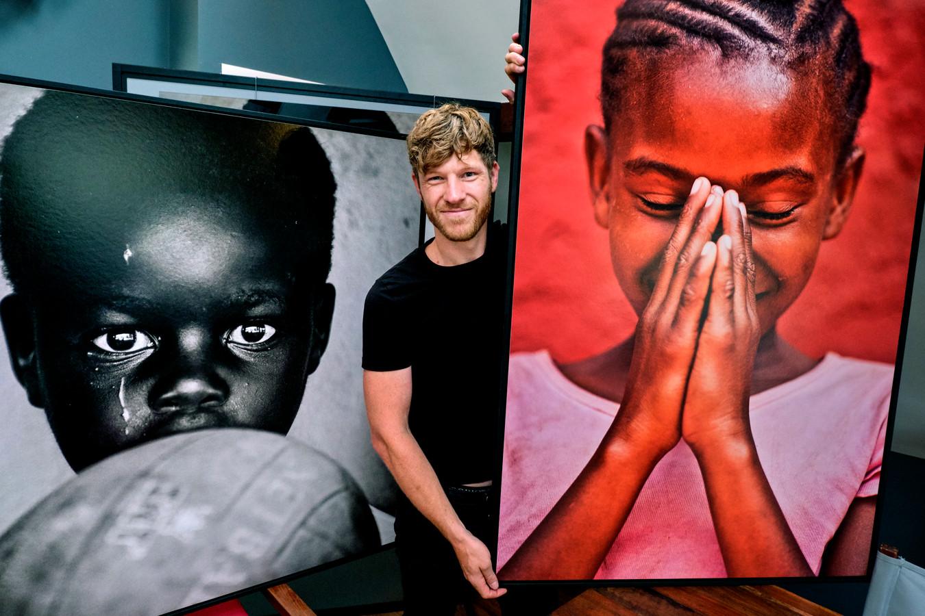 Adrian Kuipers exposeert in Strijen. ,,Ik ben iemand die dingen moet creëren.''