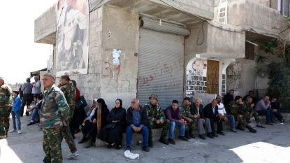 Bijna 1.200 rebellen geëvacueerd uit Douma