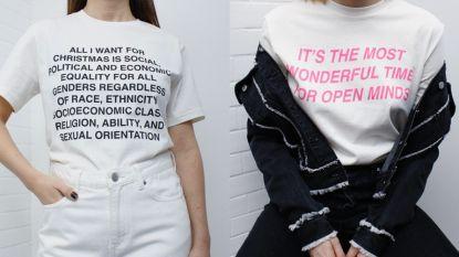 Mag je niet gemist hebben deze week: maak een politiek statement met een kerst-T-shirt van Weekday & bloggers leren je duurzaam inpakken
