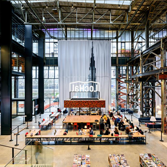 De LocHal in Tilburg is het beste gebouw.