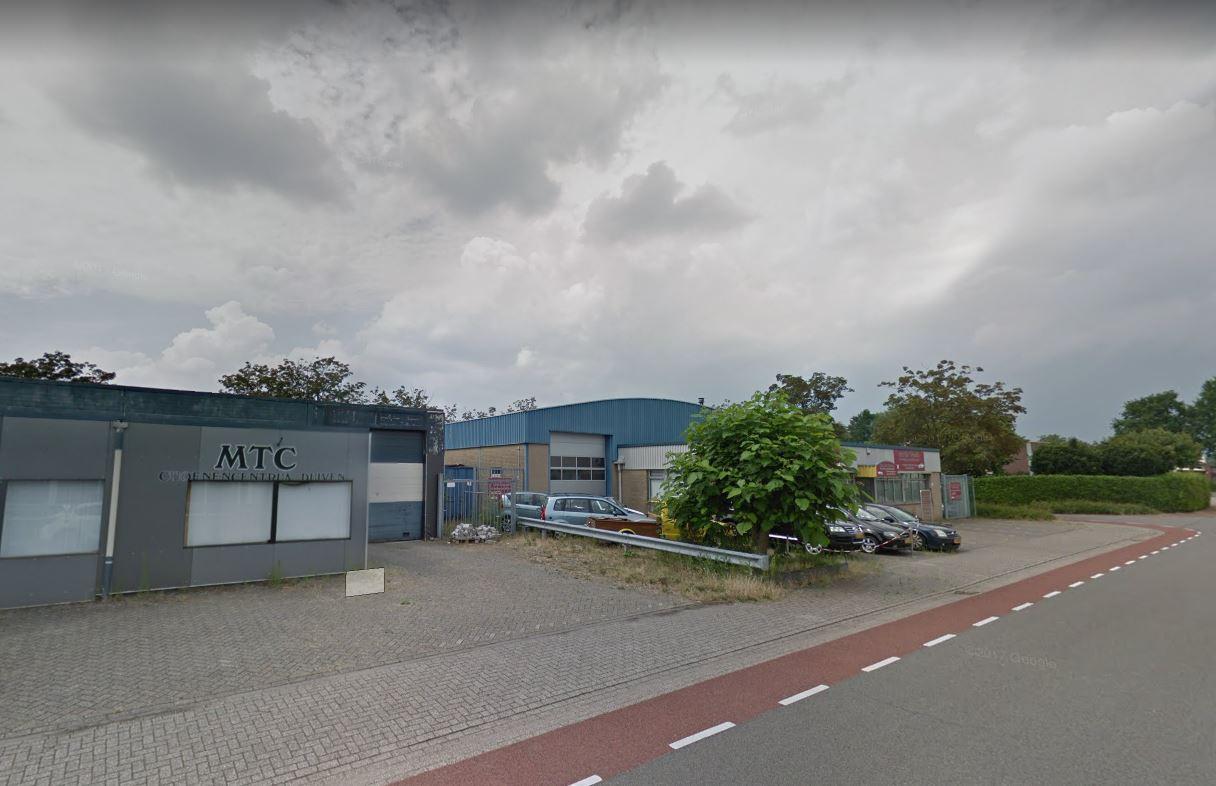 De bedrijfshal van Dutch Crypto Mining in Duiven.
