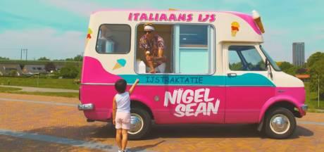 Nijmeegse rapper Nigel Sean kreeg alleen maar goed nieuws aan de Spiegelwaal