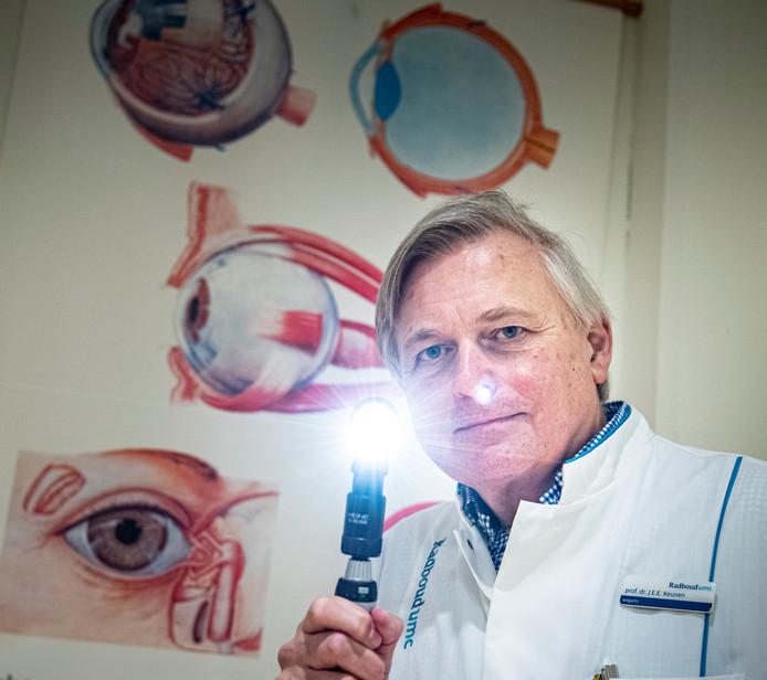 """VVD'er en oogarts Jan Keunen: ,,Ik draag het overal uit. Op partijcongressen, via e-mail, in de partijcommissie."""""""