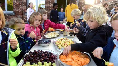 Fruit-promootdag in het Sint-Catharinacollege