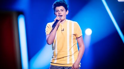 Marx uit 'Lolly Lolbroek' in 'The Voice'