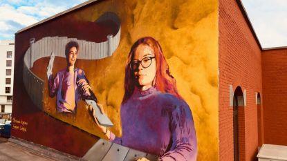 Atheneum sluit reis naar Midden-Oosten af met muurschildering