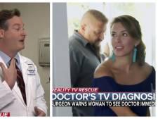 Televisiekijkende arts ontdekt kankergezwel bij realitykandidate
