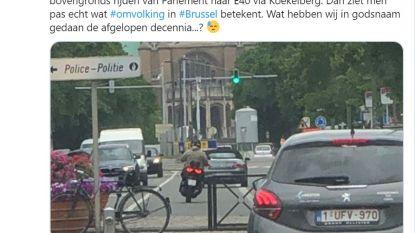 Vlaams Belanger oogst hoongelach met tweet over 'omvolking' bij basiliek van Koekelberg