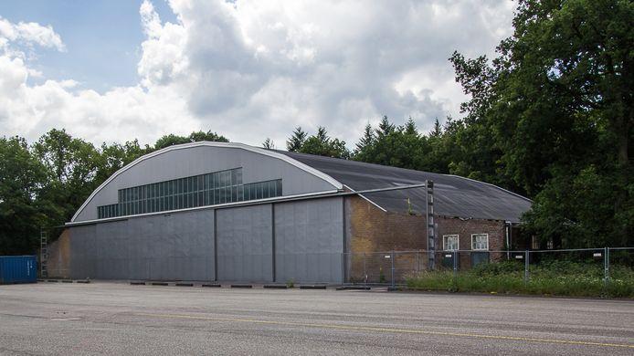 De voormalige 'Junkerhalle' van de Duitse Luftwaffe.