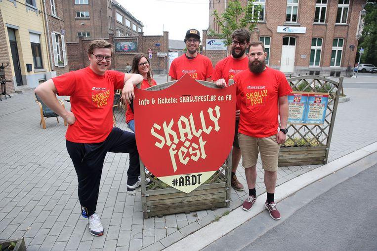 Skallyfest is aan een tweede editie toe en die vindt plaats op de campus Vondel van het Heilig Hart&College in Halle.