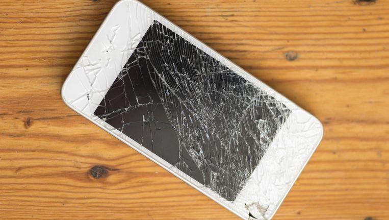 Verrassend Zo blijf je een iPhone met een gebroken scherm gebruiken VX-71