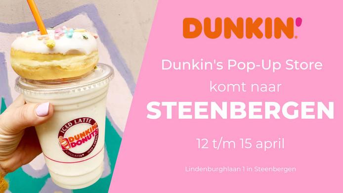 Dunkin' Donuts tijdelijk in Steenbergen