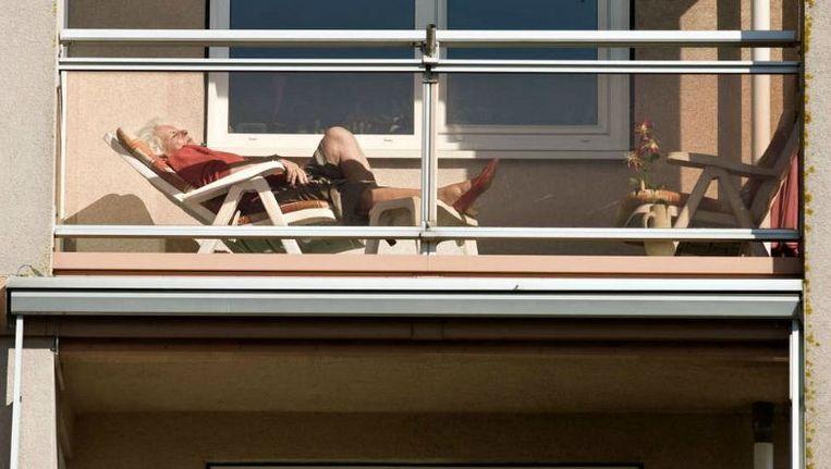 Veel ouderen hebben kapitaal in de vorm van een eigen woning, maar niet de mogelijkheid om het uit te geven. Beeld Koen Verheijden