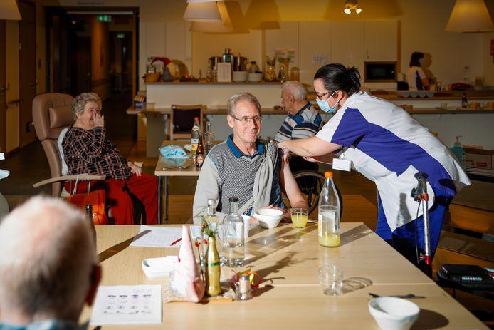 In Aalter werden de eerste vaccins vorige week al toegediend.
