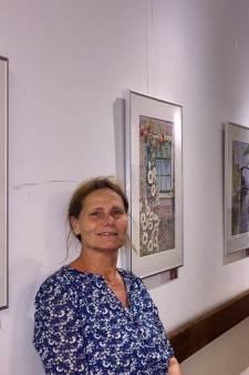 Ans Swinkels exposeert aquarellen in 't Oude Raadhuis Beek en Donk