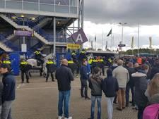 Feyenoord-fans zorgen voor explosieve sfeer rond GelreDome na winst op Vitesse