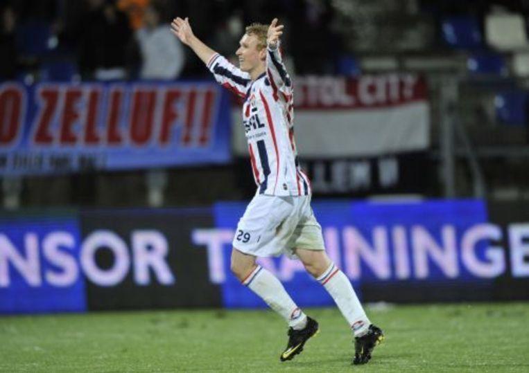 Willem II-speler Stefan Nijland. ANP Beeld