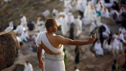 IN BEELD: 2,4 miljoen moslims verzamelen voor hoogtepunt van bedevaart naar Mekka