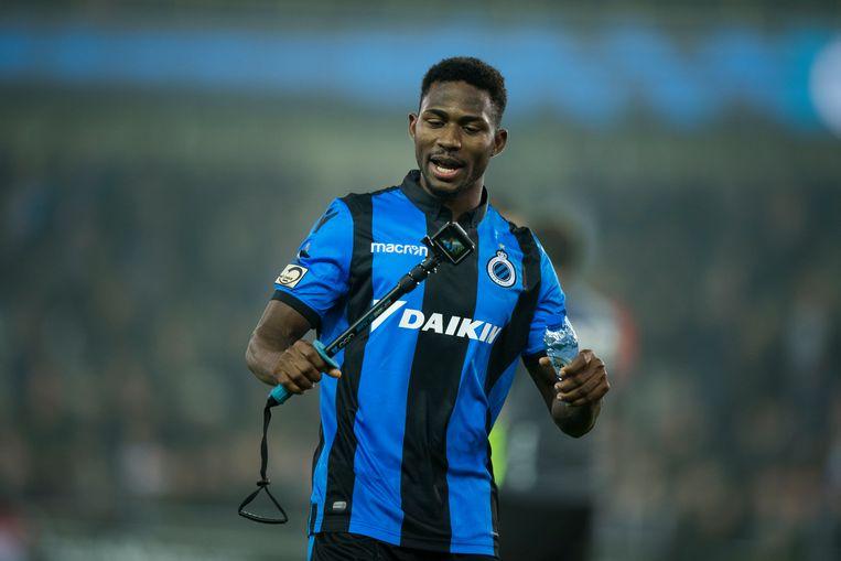 Archiefbeeld. Emmanuel Dennis van Club Brugge mocht zijn gevaarlijke rijgedrag uitleggen aan de Gentse politierechter.