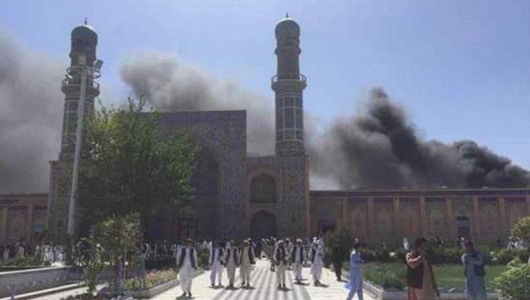 Aanslag Moskee Twitter: Zeker Tien Doden Na Explosie Bij Moskee In Afghanistan