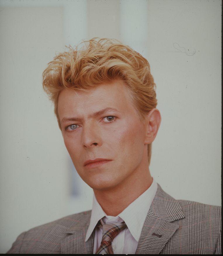 David Bowie, 1983. Beeld Tony McGee