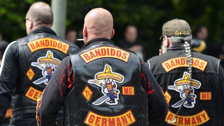 Leden van de Duitse tak van de Bandidos. Beeld EPA