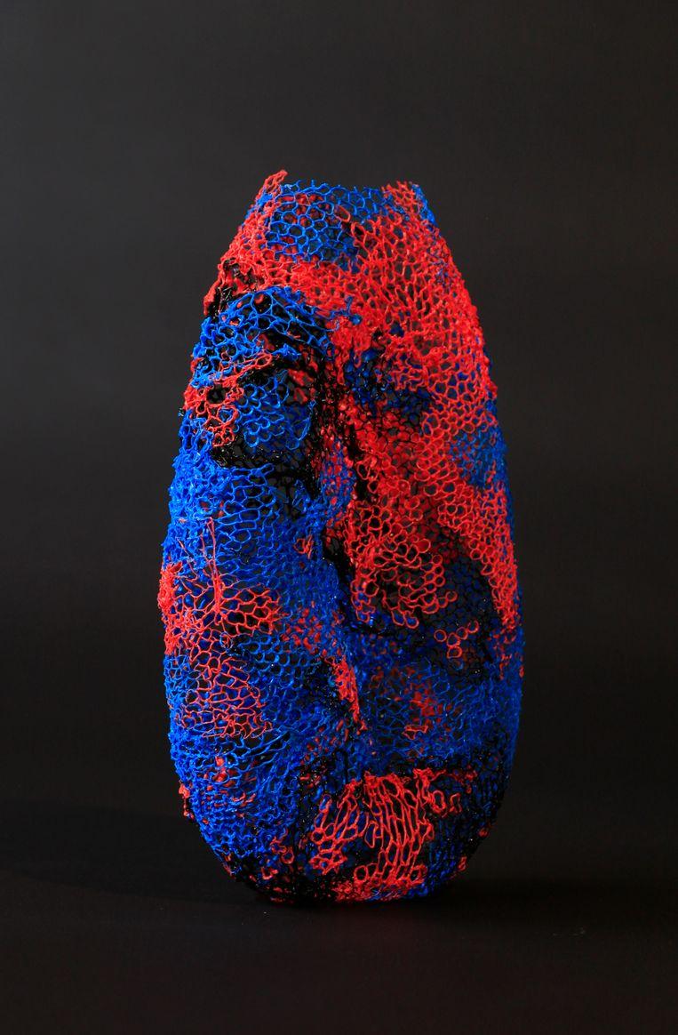 Werk van JVDW: Tropic vase Beeld TRBEELD