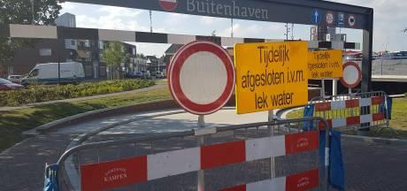 Tijdelijke oplossing voor lekkende parkeergarage Buitenhaven Kampen