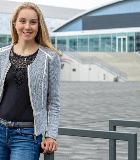 Schaatstalent Sanne heeft een andere aanpak nodig om te groeien, vindt ze zelf