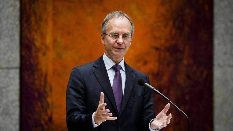 Minister Henk Kamp van Economische Zaken Beeld anp