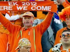 Pas de helft van EK-tickets Oranje verkocht