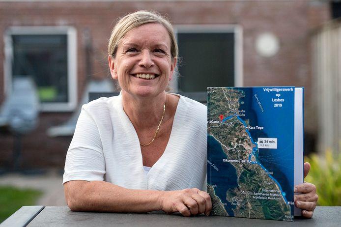 Carla Marcelissen verbleef als vrijwilligster in kamp Moria op Lesbos.