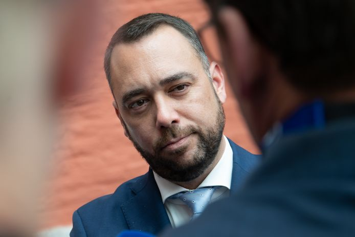 Le président du cdH Maxime Prévot.