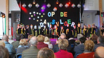 Grootouderfeest in de vrije basisschool Grotenberge