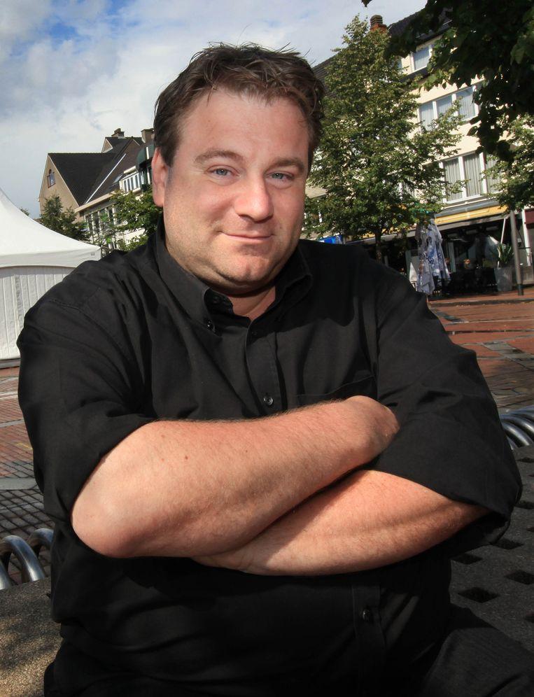 De nieuwe geduputeerde van Economie Erik Gerits.