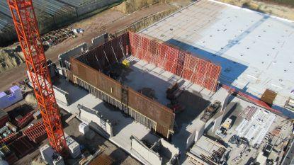 FOTOREEKS: Zo vlot de bouw van Uyttenhove en de nieuwe Lodejo