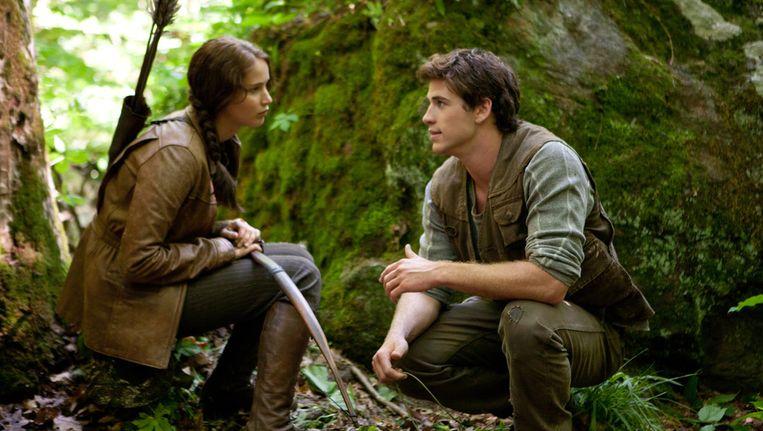 Filmstill uit The Hunger Games. Beeld AP