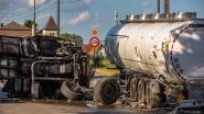 Bergensesteenweg versperd na zwaar ongeval met vrachtwagen