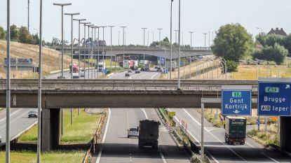 Ingrijpende onderhoudswerken op E17 in Kortrijk starten binnenkort