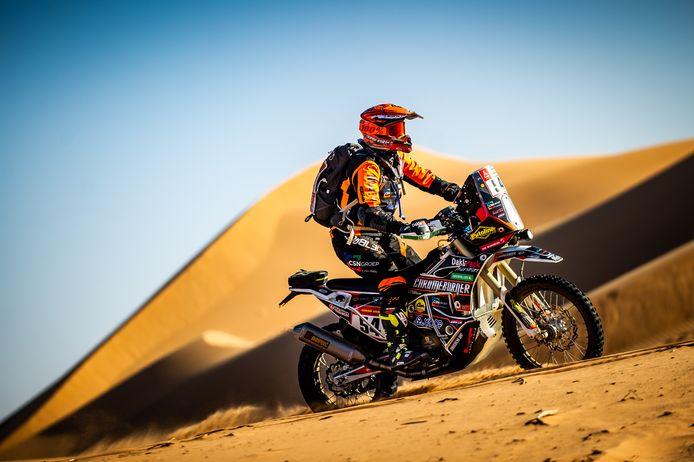 Mirjam Pol uit Borne, hier in actie tijdens de 41ste Dakar Rally in Saoedi-Arabië, doet in januari niet mee aan de rally.