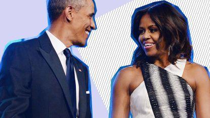 """Michelle Obama geeft treffend relatie- en huwelijksadvies: """"Ja, soms wilde ik Barack uit het raam duwen. Maar dat is geen reden om op te geven"""""""
