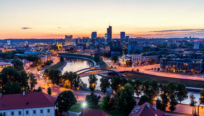 Vilnius, en Lituanie