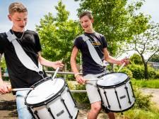 Nederlands trommelkampioenen oefenden drie maanden lang elke dag