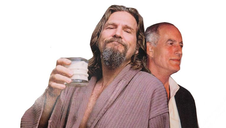 Jeffrey 'The Dude' Lebowski, gebaseerd op Peter Exline, gespeeld door Jeff Bridges. Beeld Studio V
