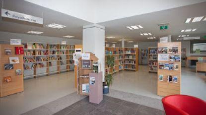 Expo rond Down in bibliotheek