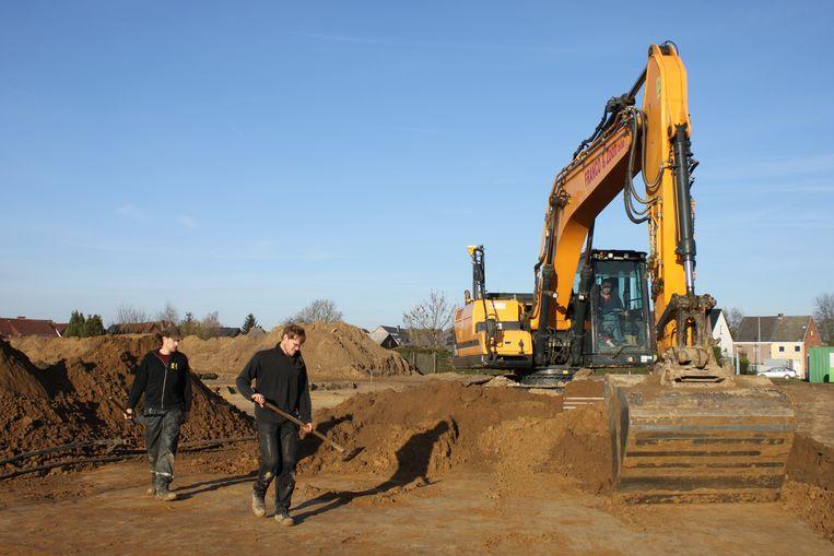 Archeologinsch onderzoek aan Bellekouter in Schellebelle.